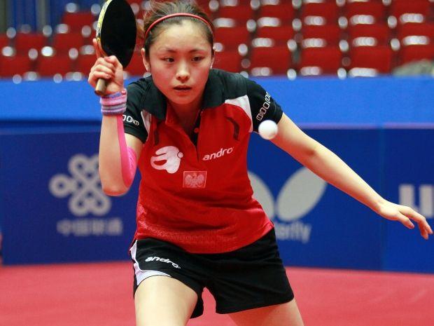 Li Qian odpadła z turnieju singlistek, ale wystartuje jeszcze w drużynie (fot. Getty Images)