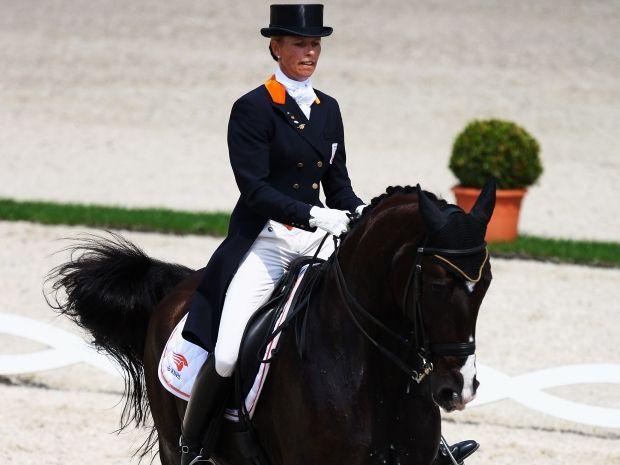 To będą siódme igrzyska dla Anky van Grunsven (fot. Getty Images)