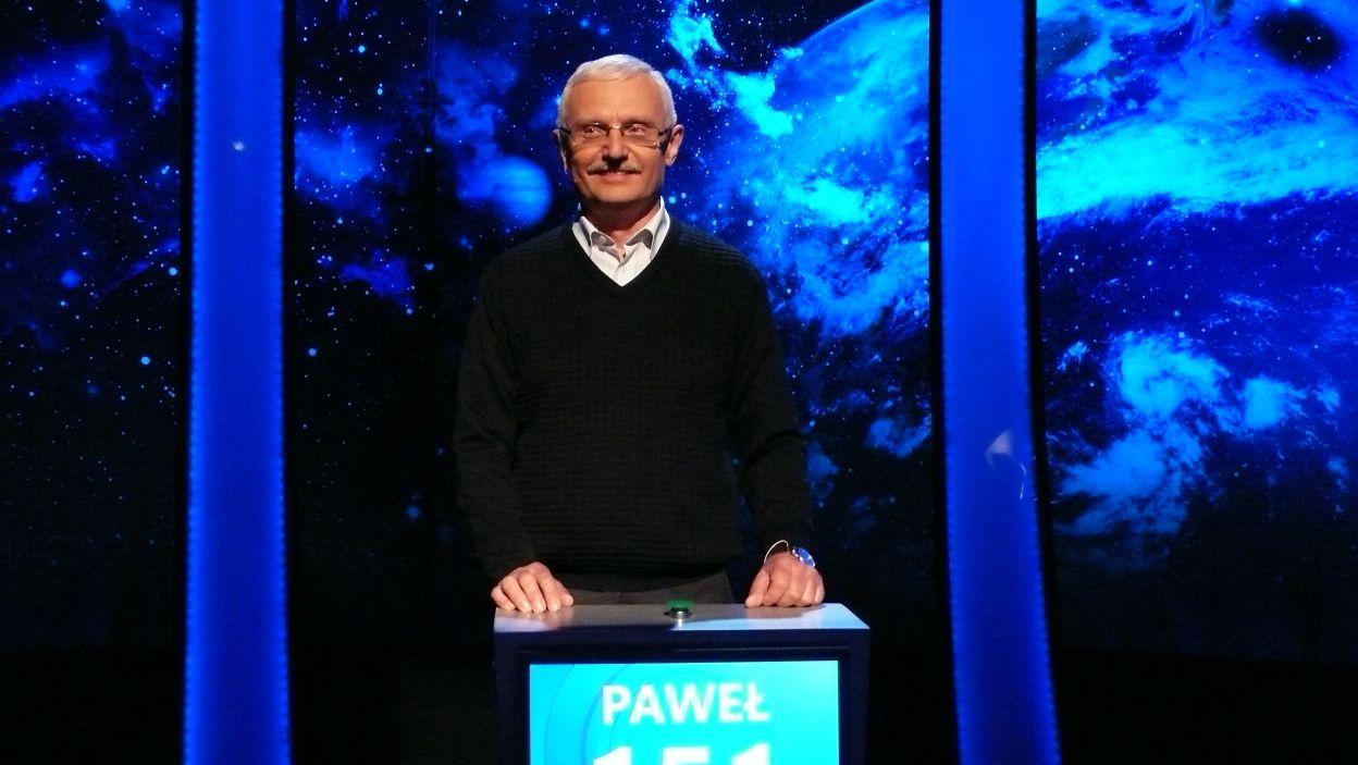Paweł Prosiński - zwycięzca 5 odcinka 116 edycji