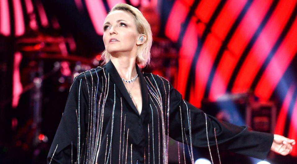 """Hołd zmarłej w zeszłym roku Korze podczas koncertu oddały Ania Wyszkoni, wykonując utwór """"To tylko tango"""