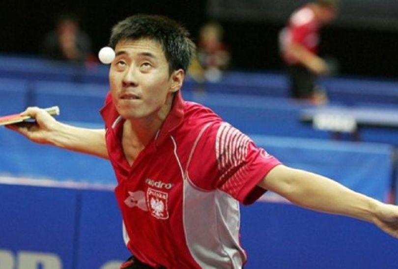 Wang Zeng Yi wykorzystał ostatnią szansę na olimpijską przepustkę w Dausze (fot. PZTS/Ireneusz Stosik)