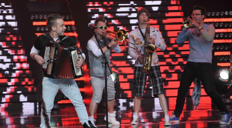 SuperPremierę wyśpiewał zespół Enej (fot. I.Sobieszczuk/TVP)