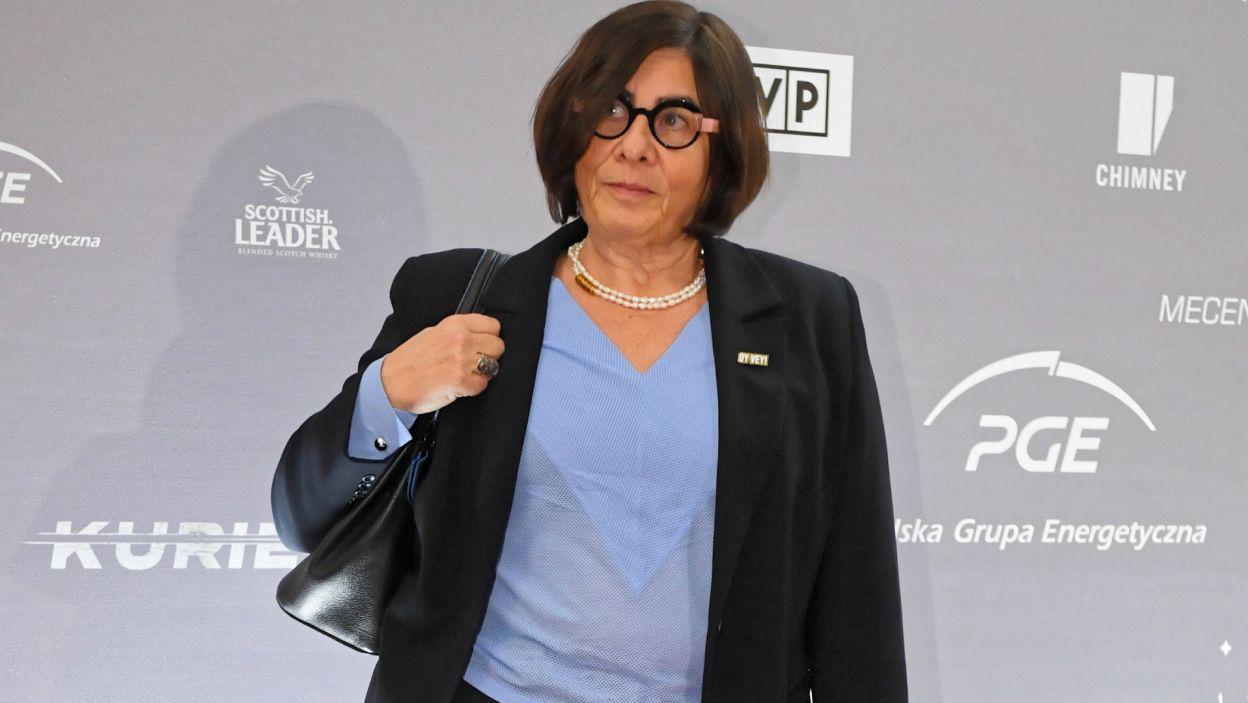 Obecna była również ambasador Izraela Anna Azari (Fot. PAP)