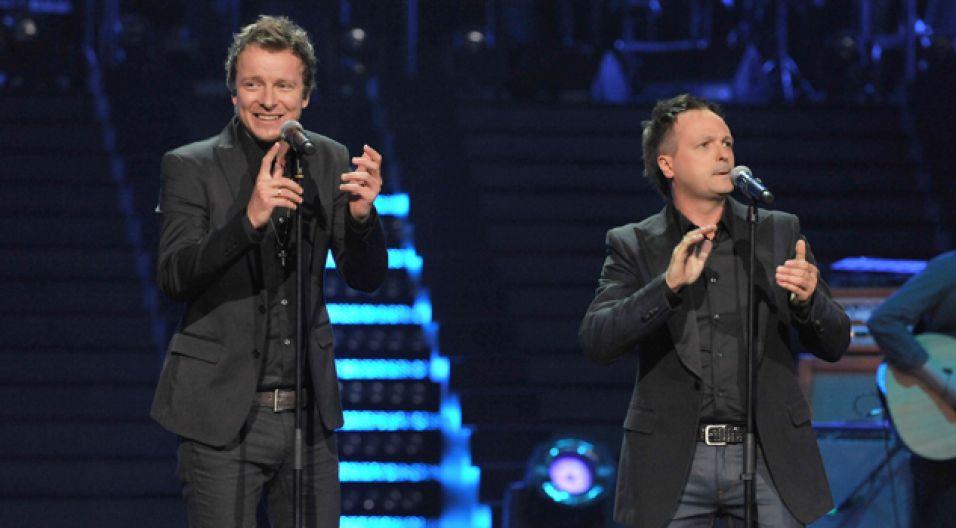 Marcin Kindla i Piotr Kupicha - męski duet (fot. I.Sobieszczuk/TVP)