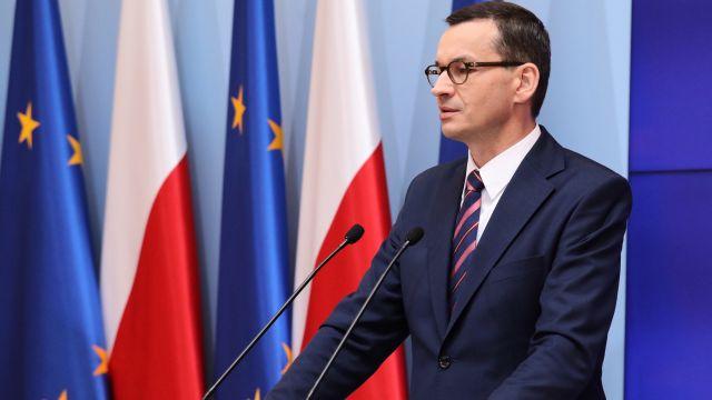 """""""Jestem ostrożnym optymistą"""". Premier Morawiecki o wyborze Ursuli von der Leyen"""