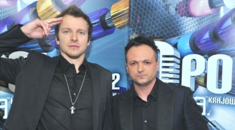 Piotr Kupicha i Marcin Kindla stworzyli wspaniały duet (fot. Jan Bogacz/TVP)