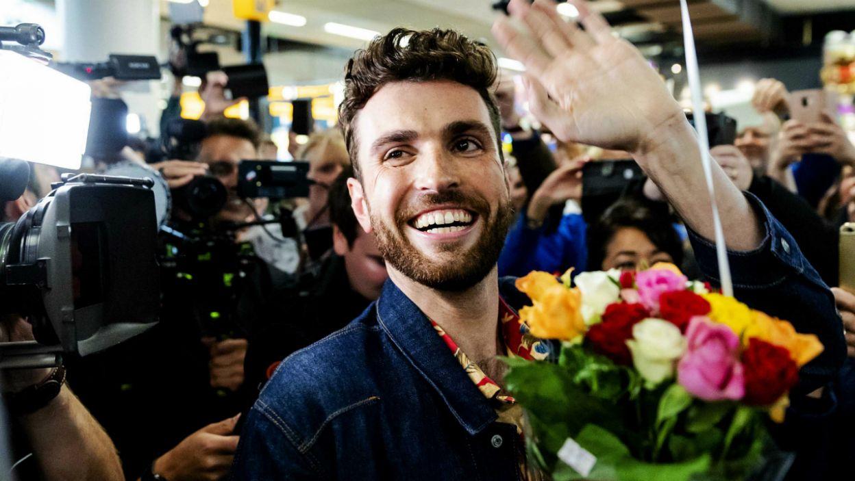 Za nami 64. edycja konkursu Piosenki Eurowizji. Jego zwycięzca został ciepło przywitany przez fanów w swoim kraju. Eurowizja 2020 już za rok, tym razem w Holandii (fot. PAP)