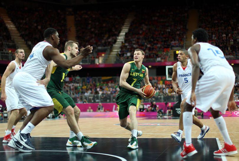 Martynas Pocius zdobył 17 punktów (fot. Getty Images)