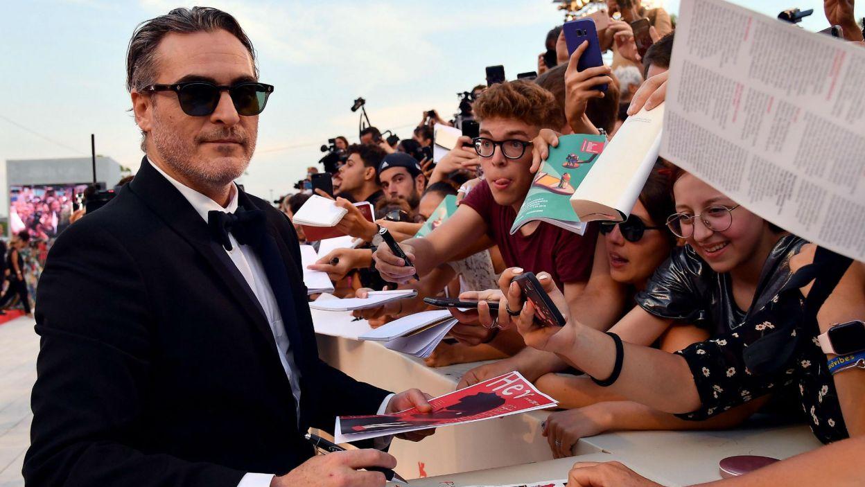 Joaquin Phoenix (fot. PAP/EPA/ETTORE FERRARI)