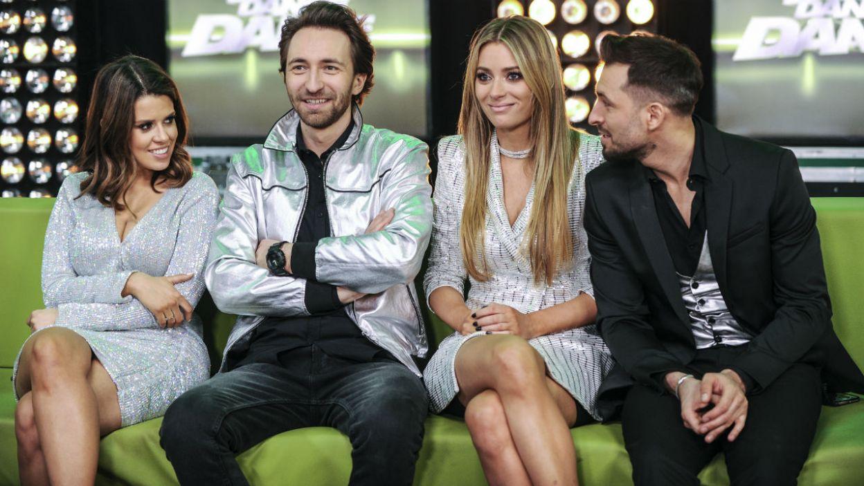 Finałowym parom kibicowali inni uczestnicy. Zdradzili na kogo oddali swój głos? (fot. TVP)