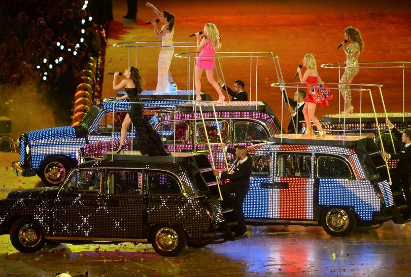 Spice Girls zrobiły wyjątek - po wielu latach przerwy wystąpiły razem (fot. PAP/EPA)