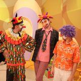 Najmłodsi zachwycają się występami klaunów (fot. TVP)