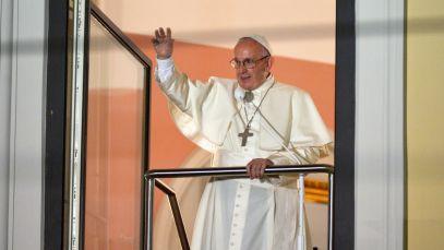Przemówienie z okna papieskiego
