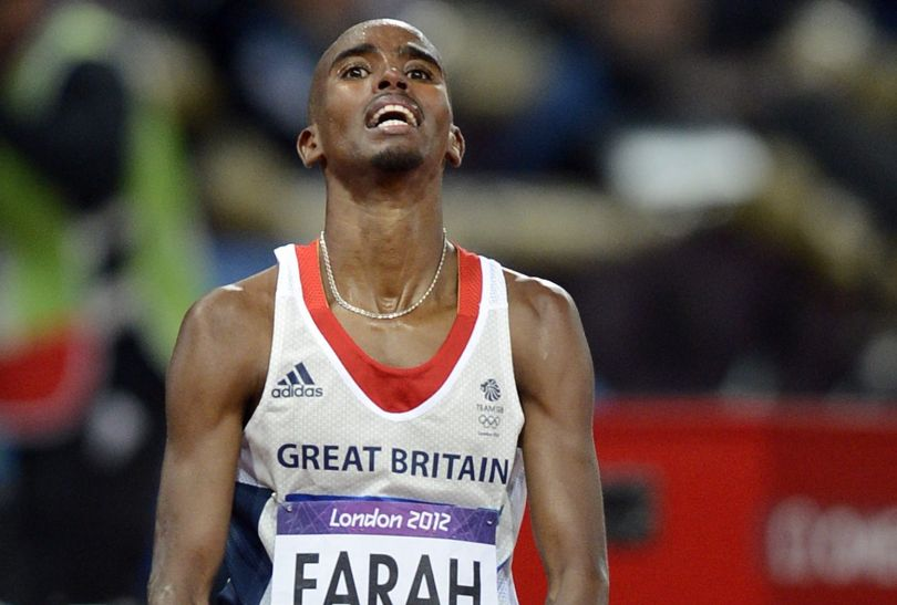 Mohamed Farah reprezentujący Wielką Brytanię zdobył złoty medal w biegu na 10 000 metrów (fot. PAP/EPA)