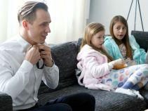 Tymczasem Marcin przygotowuje się do bardzo ważnej uroczystości… (fot. TVP)