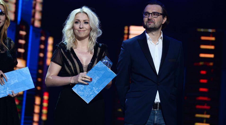 """Utwór """"Bez Ciebie"""" został nagrodzony także za najlepszy tekst (fot. TVP)"""