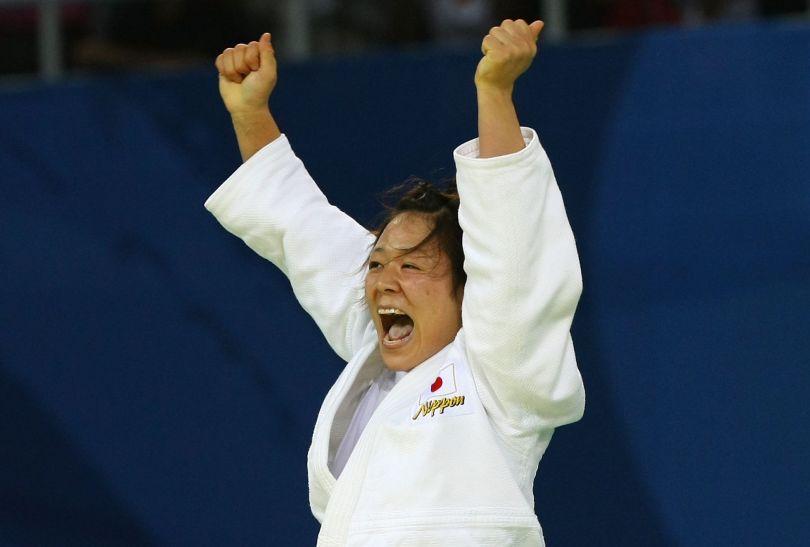 Ayumi Tanimoto zdobyła złoto w kategorii do 63 kg (fot. Getty Images)