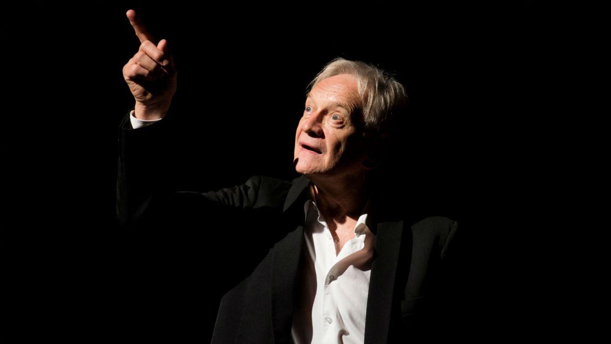 Na Scenie Monodramu Andrzej Seweryn przedstawia spektakl oparty na dramatach Williama Szekspira (fot. Jan Bogacz/TVP)