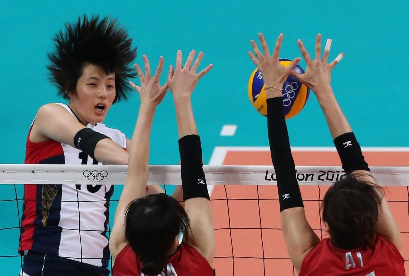 Hee-Jin Kim zdobyła siedem punktów (fot. Getty Images)