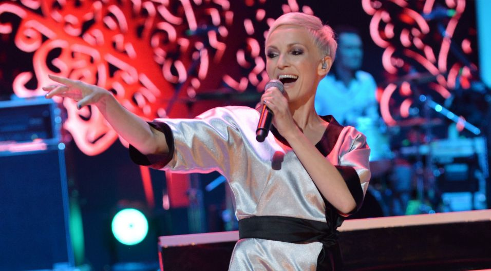 Co poskutkowało kolejnymi sukcesami. Jej pierwsza, jak i druga solowa płyta okryły się podwójną platyną... (fot. TVP)