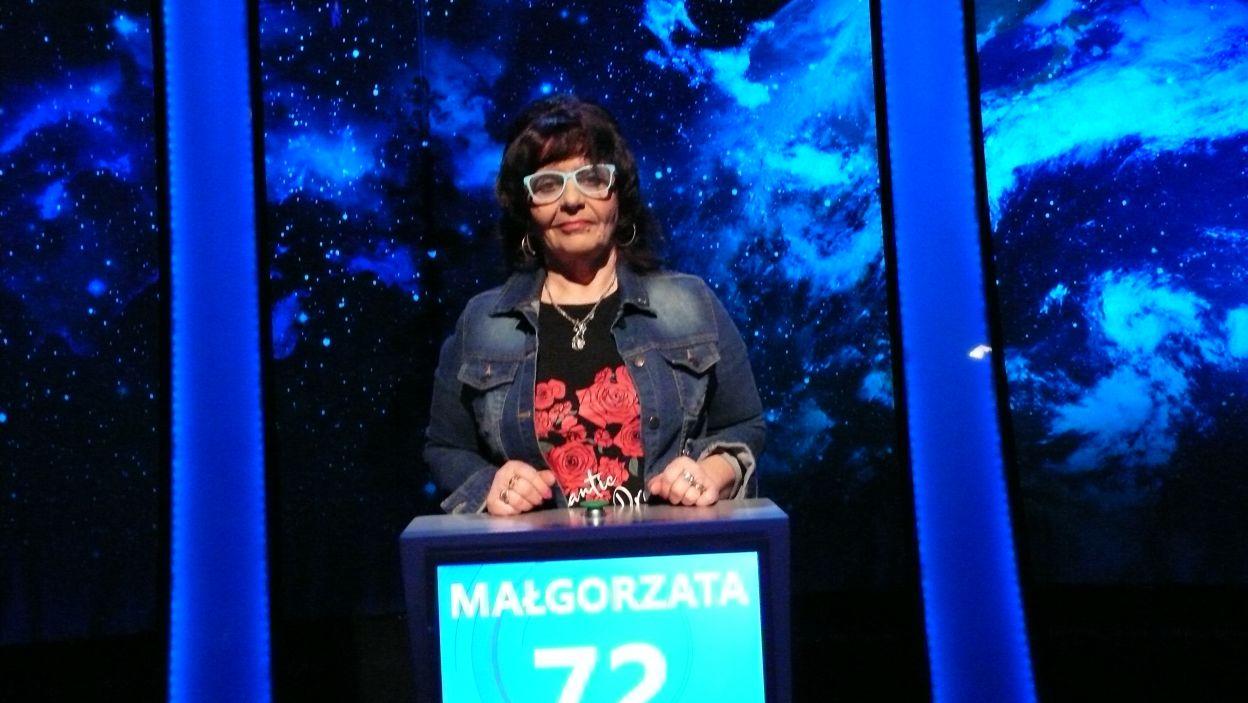 Małgorzata Lepiarz - zwyciężczyni 19 odcinka 112