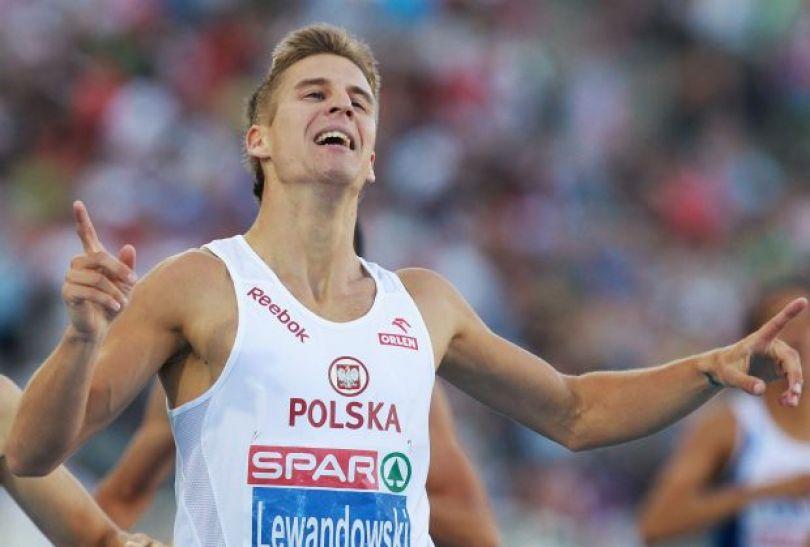Marcin Lewandowski – bieg na 800 m (fot. Getty Images)