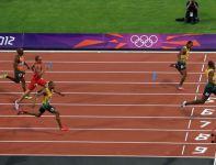 Bolt zwolnił już przed metą (fot.Getty Images)