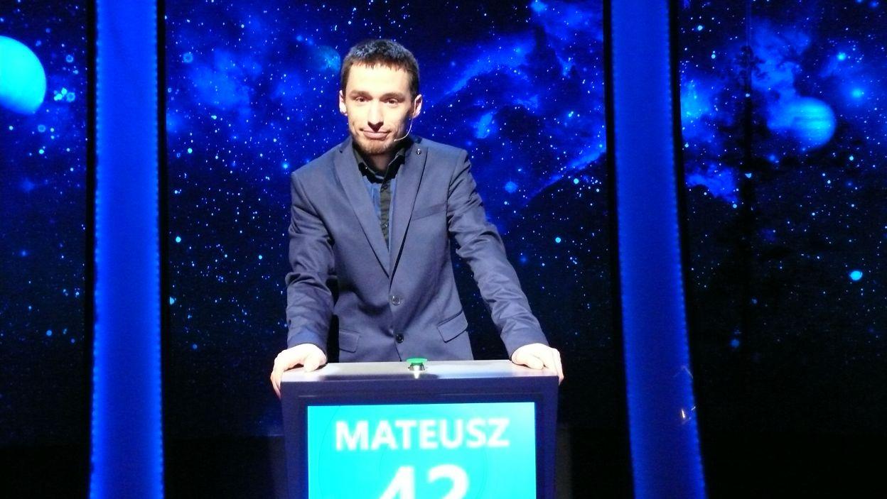 Mateusz Sipura - zwycięzca 14 odcinka 105 edycji