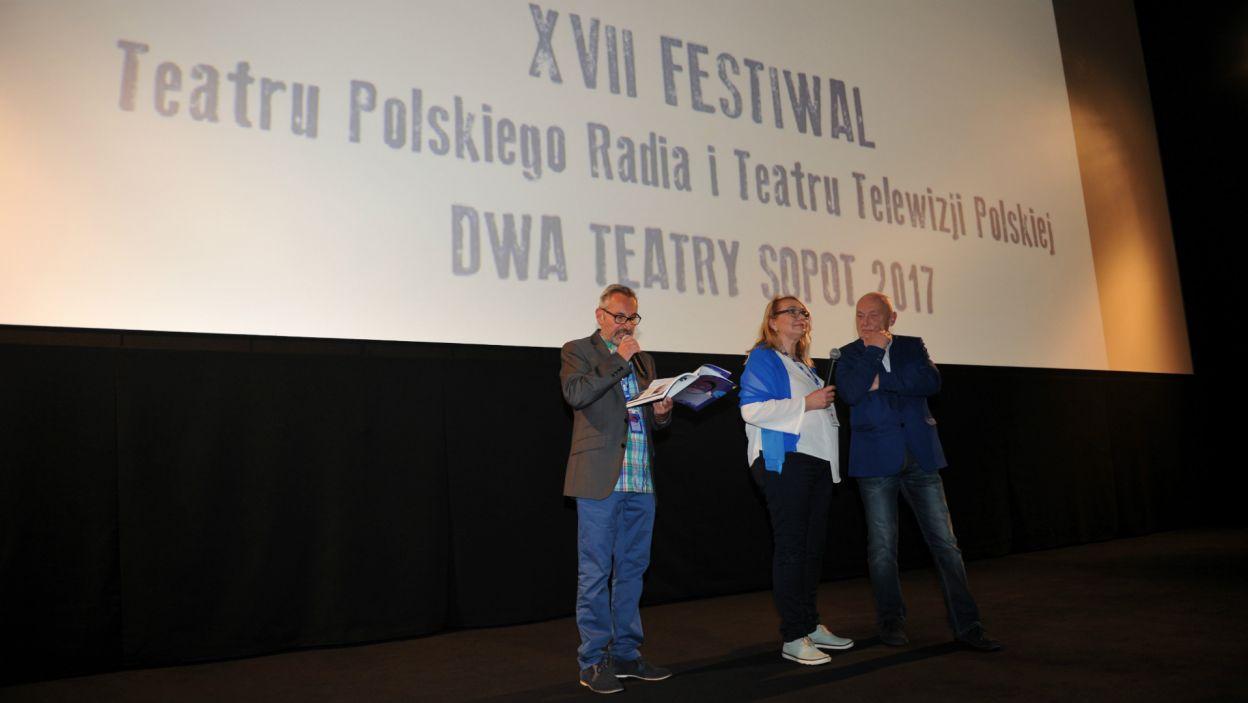 Wydarzeniem towarzyszącym festiwalu Dwa Teatry była Gala Internetowego Przeglądu Uczniowskich Zespołów Teatralnych iTeatr… (fot. N. Młudzik/TVP)