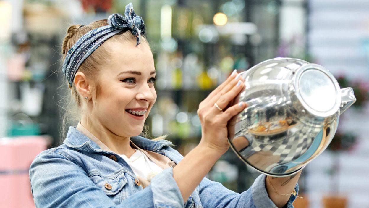 W finale przyszedł czas na niezwykłe zadanie – upiec antygrawitacyjny tort (fot. TVP)