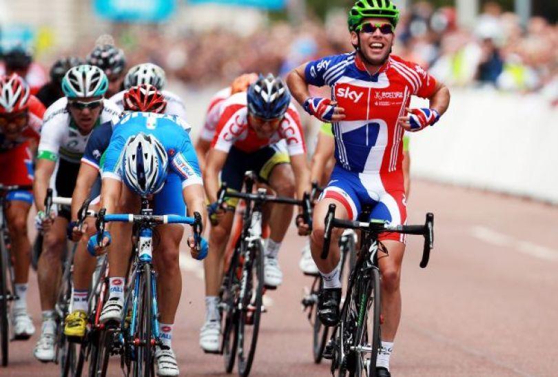 Gospodarze mają nadzieję, że Mark Cavendish powtórzy ten wynik na igrzyskach (fot. Getty Images)