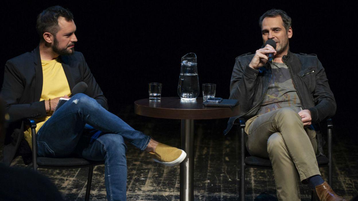 Paweł Deląg uważa, że Teatr Telewizji przyciąga ciekawych twórców, którzy lubią eksperymentować z formą artystyczną (fot. N. Młudzik/TVP)