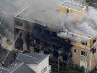 Pożar studia animacji w Japonii. Wielu zabitych i rannych [WIDEO]