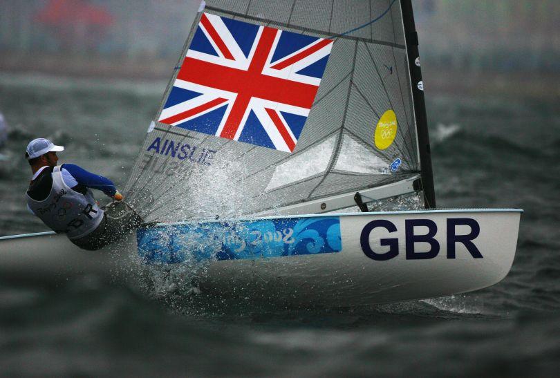 Brytyjczyk Ben Ainslie (fot. Getty Images)