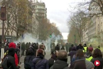 Strajki paraliżują Francję