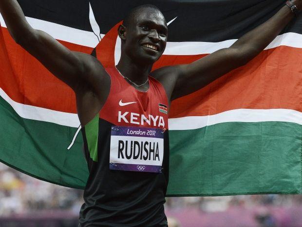 David Rudisha we wspaniałym stylu zdobył olimpijskie złoto i pobił rekord świata na 800 metrów (fot. PAP/EPA)