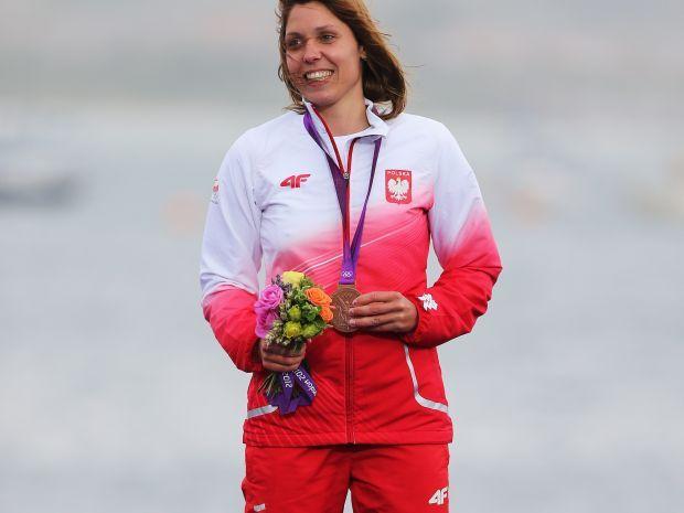 Zofia Klepacka przekazała swój medal na licytację (fot. Getty Images)