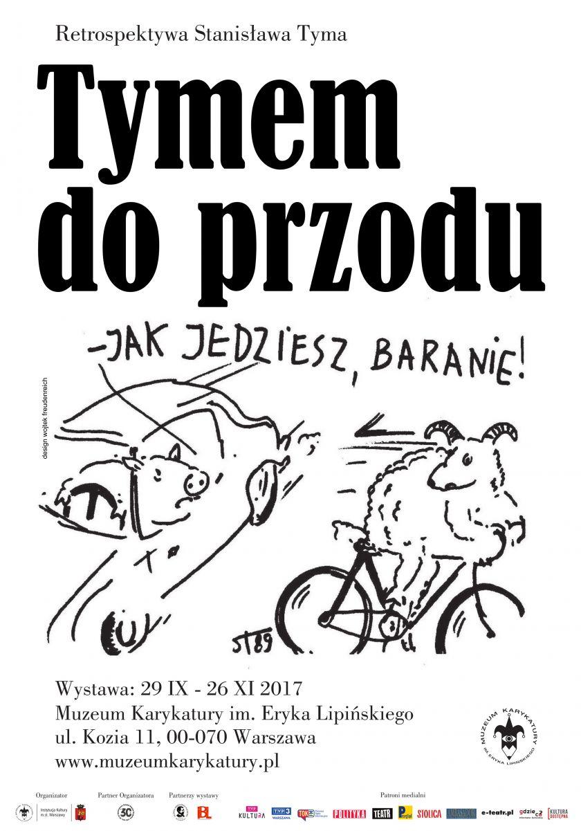 Retrospektywa Stanisława Tyma w Muzeum Karykatury im. Eryka Lipińskiego