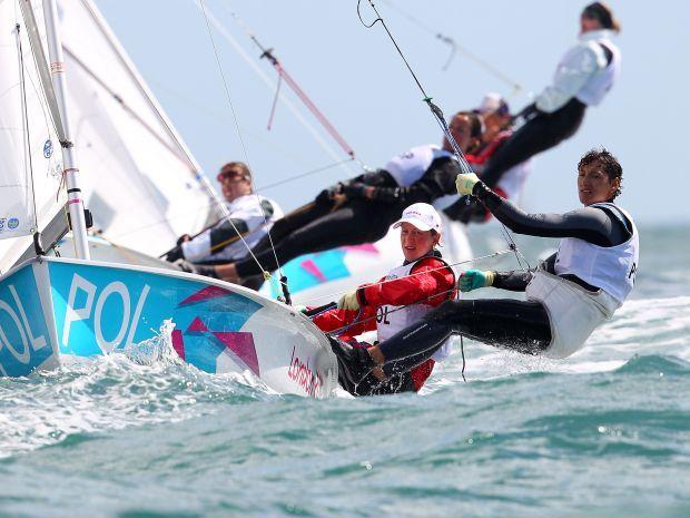 Polskie żeglarki mają jeszcze szansę na wyścig medalowy (fot. Getty Images)