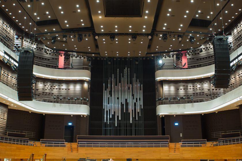 Organy - fasada, NFM, fot. Lukasz Rajchert