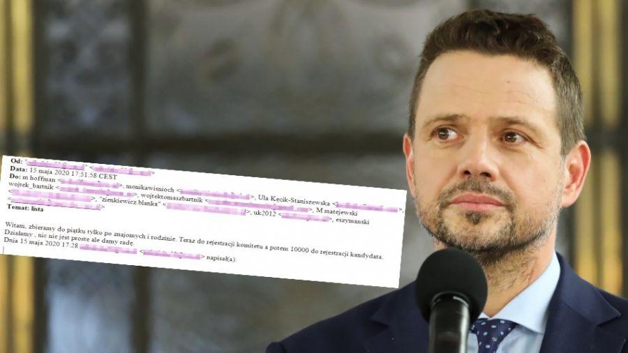 Zbieranie podpisów w tym momencie jest niezgodne z prawem, ponieważ nie zostały jeszcze rozpisane wybory (fot. PAP/Tomasz Gzell)
