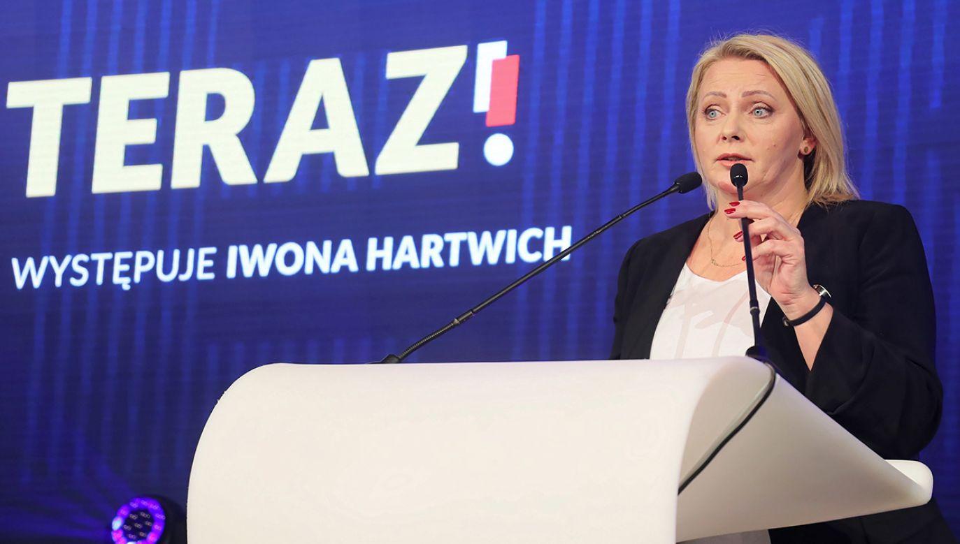 Iwona Hartwich została wybrana posłanką z listy Koalicji Obywatelskiej (fot. arch. PAP/Paweł Supernak)