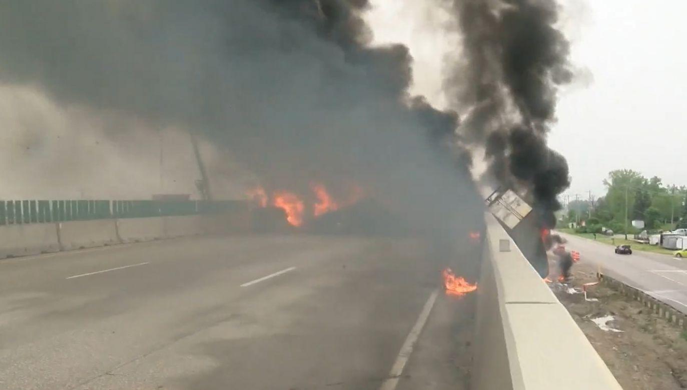Dwie osoby nie żyją (fot. screen/nbcnews)