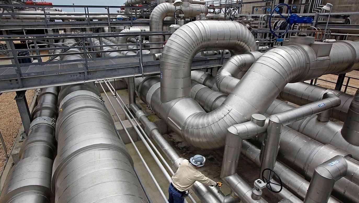 Stroną memorandum są ukraiński rząd i firma Louisiana Natural Gas Exports (fot. Craig Hartley/Bloomberg via Getty Images)