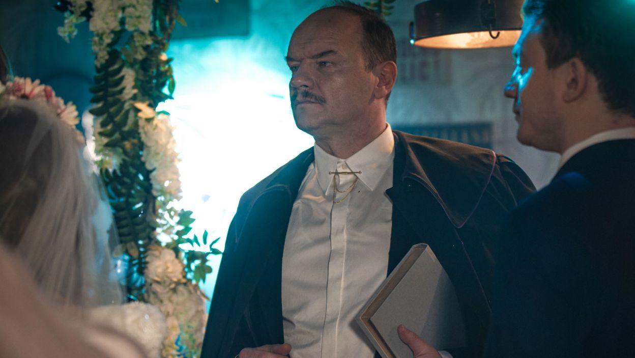 Redbad Klynstra-Komarnicki wykreował postać Glansa (fot. TVP)