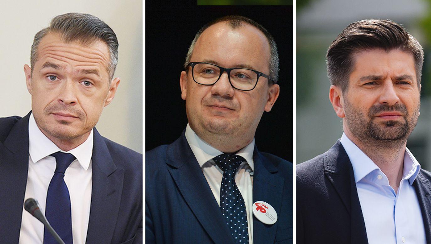 Polityczne wydarzenia komentuje Miłosz Manasterski  (fot. PAP/Radek Pietruszka; Gettyimages)