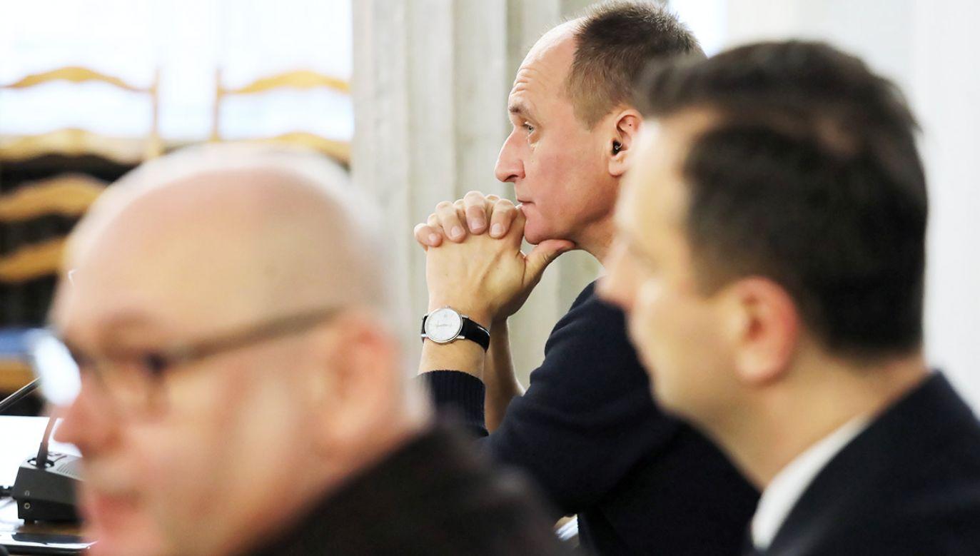 Kukiz skrytykował prezydenta (fot. PAP/Tomasz Gzell)