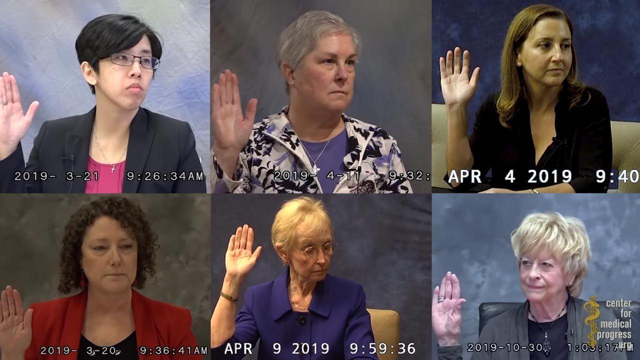 Zeznania pod przysięgą pochodzą z 2019 roku (fot. YouTube/ The Center for Medical Progress)