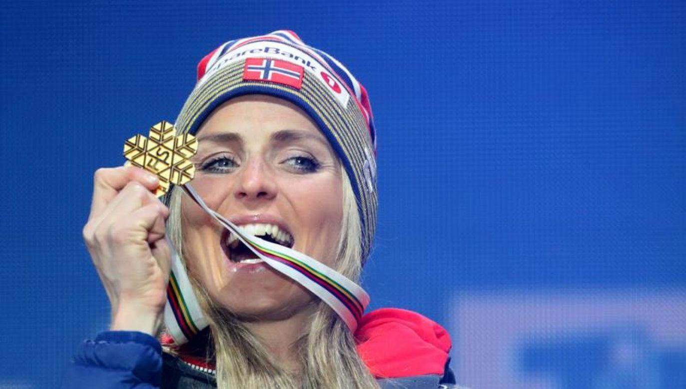 Johaug jeszcze nigdy nie biegała na stadionie lekkoatletycznym (fot. REUTERS/Lisi Niesner)