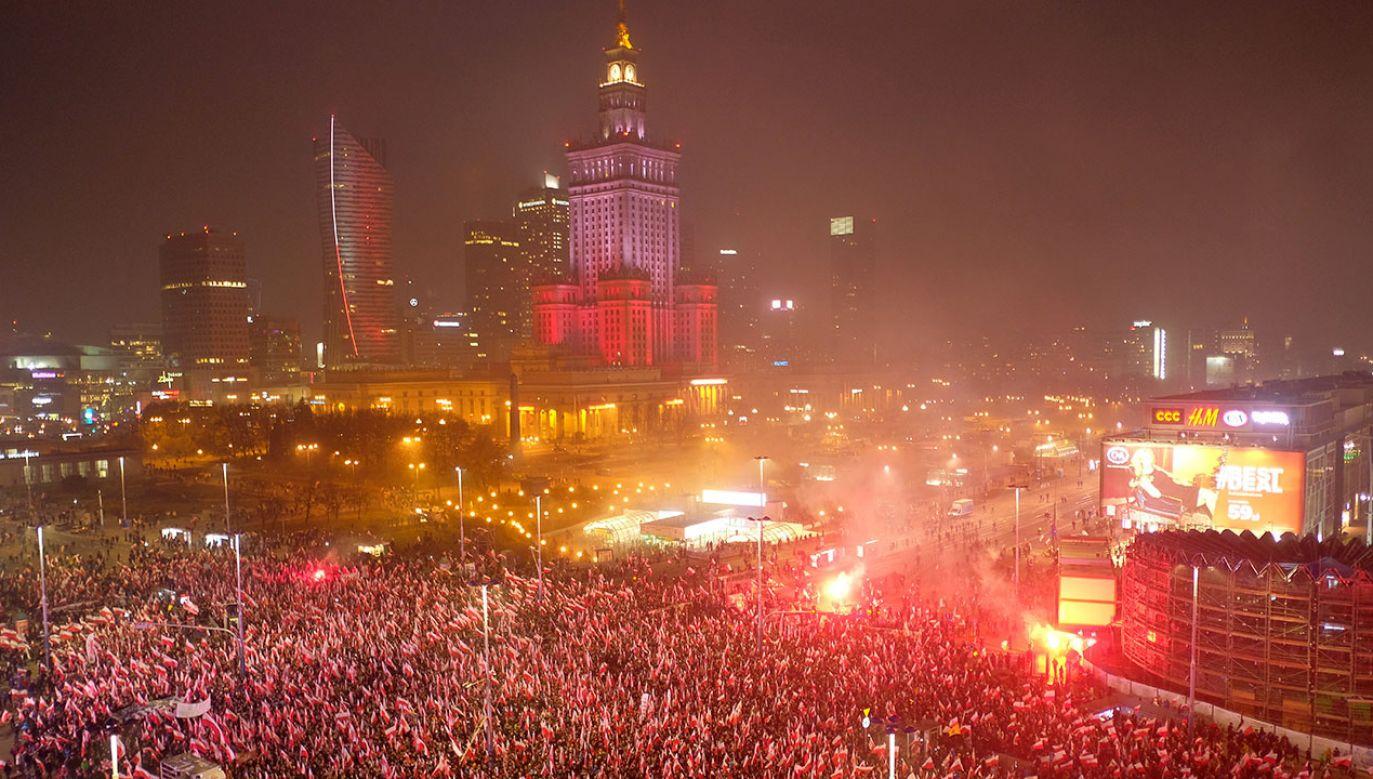 Prokuratura zdecydowała ws. stowarzyszenia Marsz Niepodległości (fot. Sean Gallup/Getty Images)